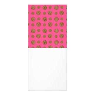 Modelo rosado de las galletas de microprocesador d lona