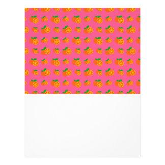 """Modelo rosado de los naranjas folleto 8.5"""" x 11"""""""