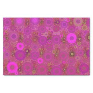 Modelo rosado de Polkadot Papel De Seda Pequeño