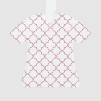 Modelo rosado de Quatrefoil