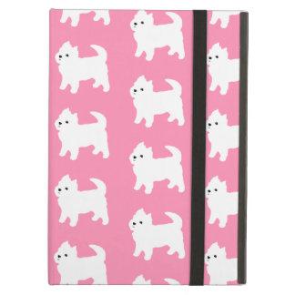 Modelo rosado de Westie - perros del oeste de