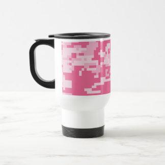 Modelo rosado del ACU Camoflage de Digitaces Taza De Café