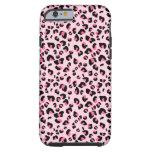 Modelo rosado del animal del leopardo