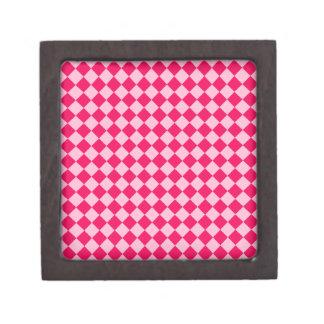 Modelo rosado del diamante de la combinación cajas de recuerdo de calidad