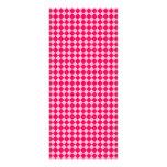 Modelo rosado del diamante de la combinación tarjetas publicitarias