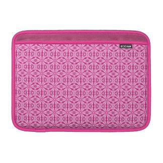 Modelo rosado del fractal 11 pulgadas fundas macbook air
