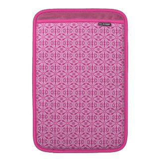Modelo rosado del fractal 11 pulgadas funda  MacBook