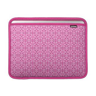 Modelo rosado del fractal 13 pulgadas fundas MacBook