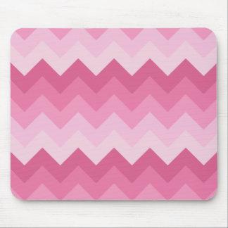Modelo rosado del galón tapetes de ratón