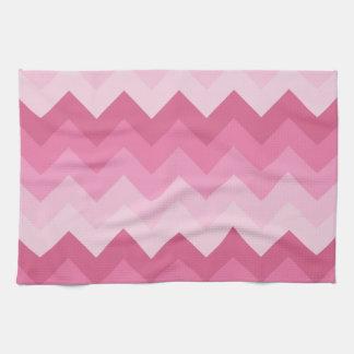 Modelo rosado del galón toalla de cocina