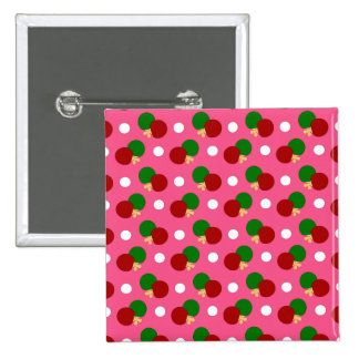Modelo rosado del ping-pong pin cuadrada 5 cm