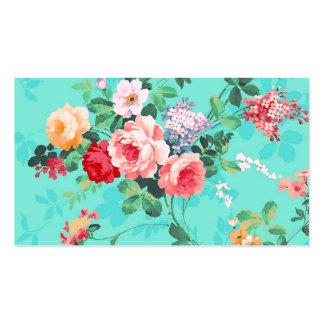 Modelo rosado elegante de los rosas amarillos del  tarjetas de visita