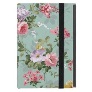Modelo rosado elegante de los rosas del vintage iPad mini cobertura