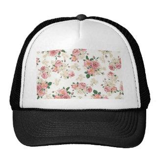 Modelo rosado elegante de los rosas del vintage gorras de camionero