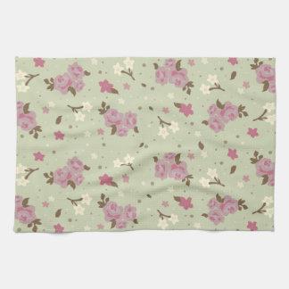Modelo rosado elegante lamentable de los rosas toalla