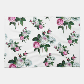 Modelo rosado elegante lamentable de los rosas toallas de mano