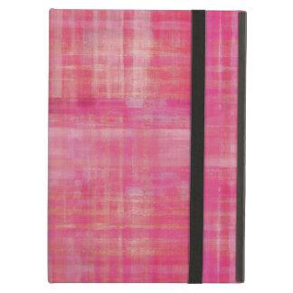 Modelo rosado femenino del arte abstracto