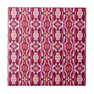 Modelo rosado femenino del cordón azulejo cuadrado pequeño
