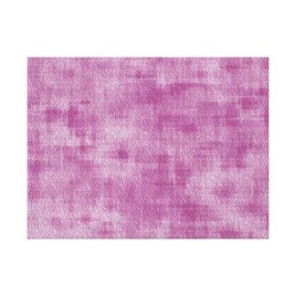 Modelo rosado femenino del extracto de la acuarela lona envuelta para galerias