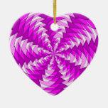 modelo rosado gráfico del remolino ornamente de reyes