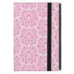 Modelo rosado lindo adornado elegante elegante del iPad mini coberturas