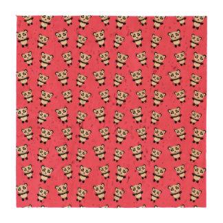Modelo rosado lindo de la panda posavasos