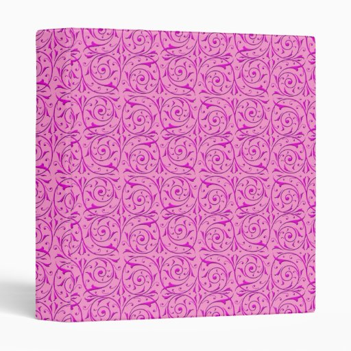 Modelo rosado lindo de las vides de Swirly
