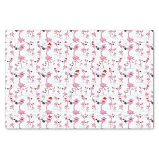 Modelo rosado lindo de los gorras de Santa de los Papel De Seda Pequeño