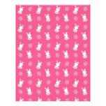 Modelo rosado lindo de pascua del conejito del beb