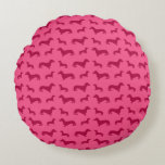 Modelo rosado lindo del dachshund