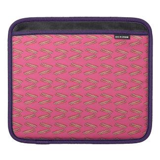 Modelo rosado lindo del tocino fundas para iPads