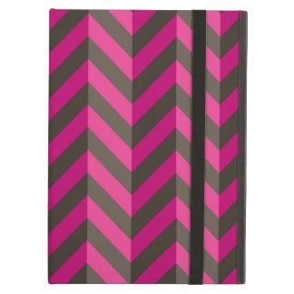 Modelo rosado magenta de Chevron del zigzag de Bro