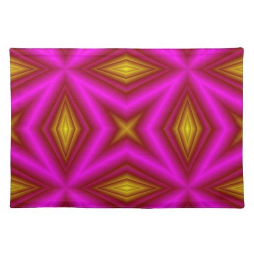 Modelo rosado mantel