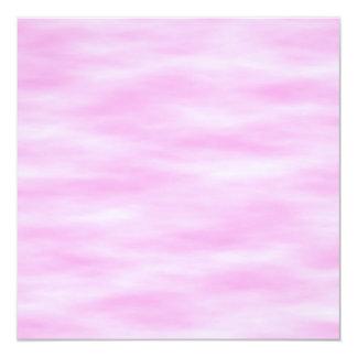 Modelo rosado. Ondas suaves, nubes