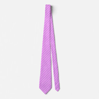 Modelo rosado retro de la raya corbatas personalizadas