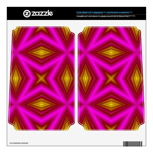 Modelo rosado turtle beach x41 skins