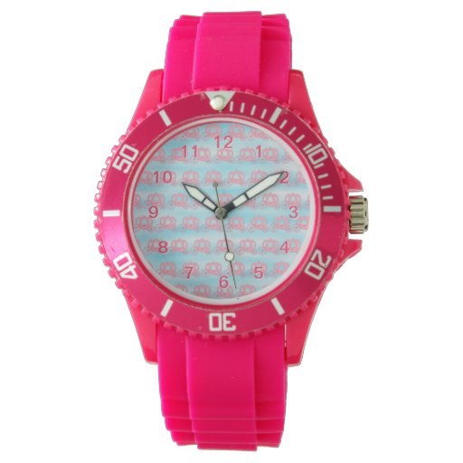 Modelo rosado y azul de princesa Carriages Reloj De Mano