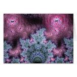 Modelo rosado y azul del fractal