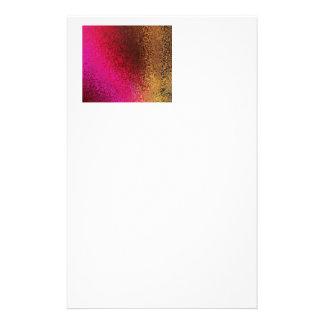 Modelo rosado y del oro papeleria de diseño