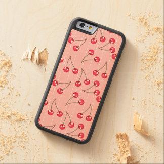 Modelo rosado y rojo lindo de las cerezas