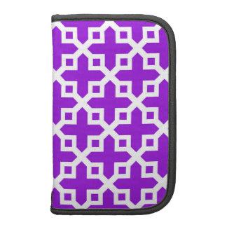 Modelo seccionado transversalmente violeta y planificador