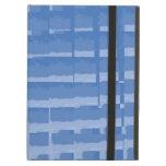 Modelo silenciado azul abstracto de los azules de