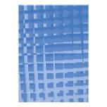 Modelo silenciado azul abstracto de los azules de  comunicado personalizado