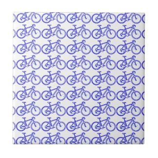modelo simple de la bici azulejo cuadrado pequeño