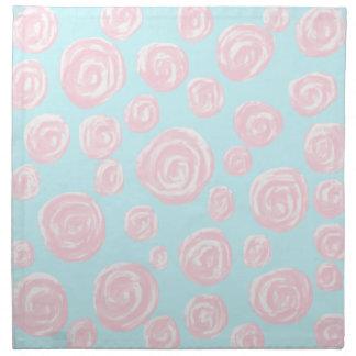 Modelo subió del rosa en colores pastel en azul cl servilletas de papel