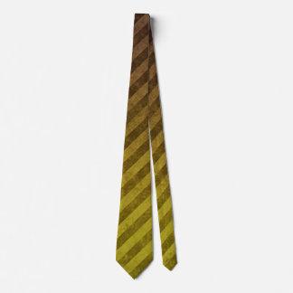 Modelo sucio amarillo de la raya corbatas