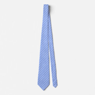 Modelo sucio de la raya azul corbata personalizada