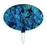 modelo suculento total del azul del extracto de lo figura para tarta