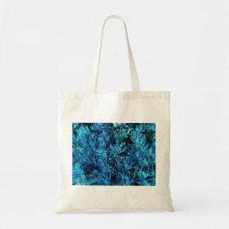 modelo suculento total del azul del extracto de lo bolsa tela barata
