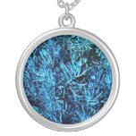modelo suculento total del azul del extracto de lo joyería